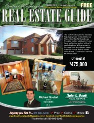 Central Washington Real Estate Guide March 18