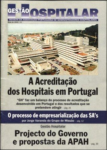 Gestão Hospitalar 2003