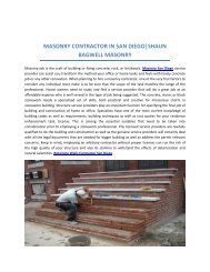 Best Block and Brick Wall Contractor in San Diego