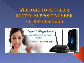 Get round the clock support for your Netgear router by calling +1-888-664-3555 Netgear router tech support phone number?