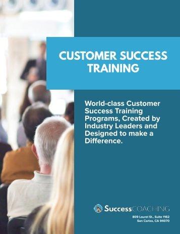 SuccessCOACHING Customer Success Training Offerings-3