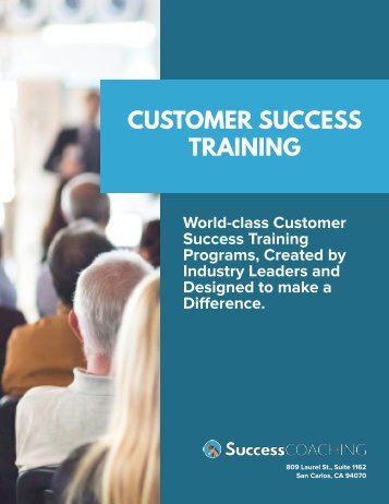 SuccessCOACHING Customer Success Training Offerings-3