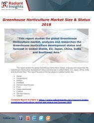 Global Greenhouse Horticulture Market Size, Status and Forecast 2025