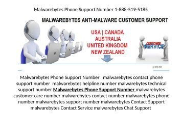 Malwarebytes customer service 1-888-519-518