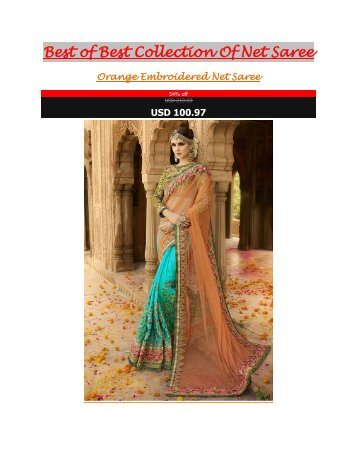 Best_of_Best_Collection_Of_Net_Saree