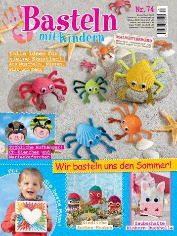Basteln mit Kindern Nr. 74/2018