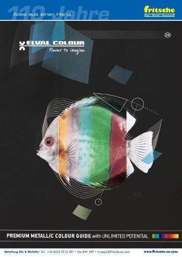 Farbtabelle: ETALBOND Elval Colour PREMIUM