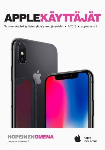 Apple-käyttäjät 2018/1