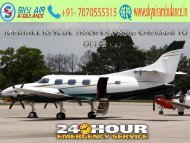 Get low-cost services with Sky Air Ambulance from Chennai to Delhi