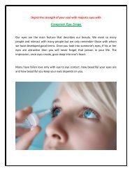 Improve your Eyelash Length with help of Careprost Eye Drops