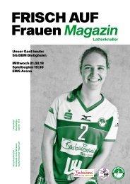Ausgabe 7 - Saison 2017/2018 - FRISCH AUF Frauen Magazin