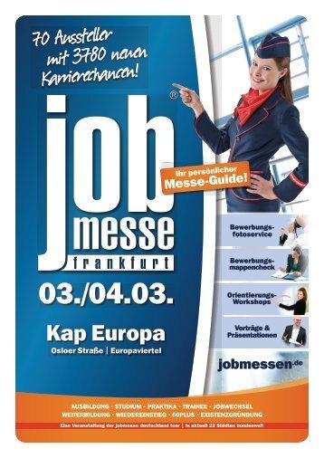 Der Messe-Guide zur 4. jobmesse frankfurt