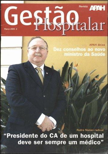 Gestão Hospitalar N.º 3 2005