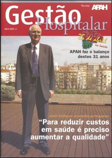 Gestão Hospitalar N.º 4 2005