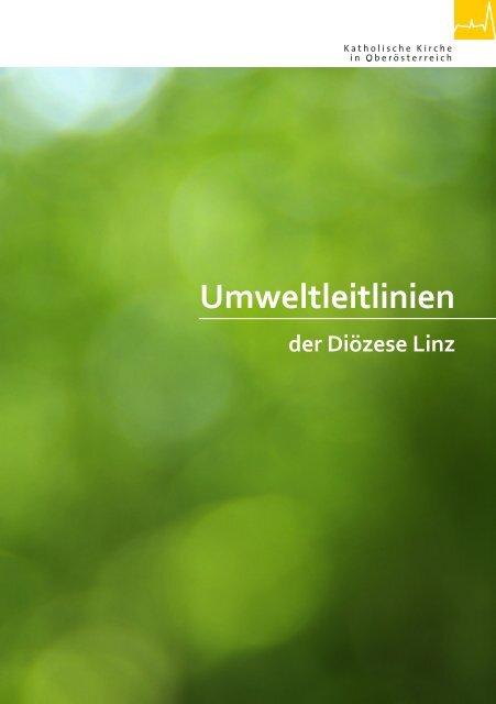 Umweltleitlinien der Diözese Linz