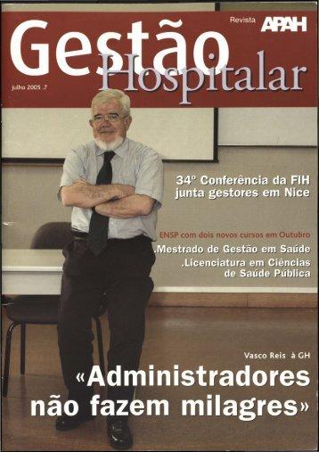 Gestão Hospitalar N.º 7 2005