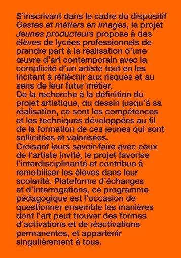 Jeunes Producteurs 2014:15