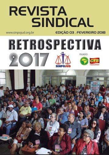 REVISTA SINPOJUD | EDIÇÃO 03 | FEVEREIRO 2018