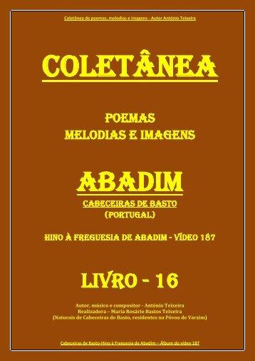 00 ABADIM (Cabeceiras de Basto) (Hino à freguesia) LIVRO PDF