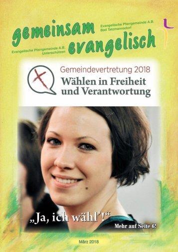 Gemeindebote März-Mai 2018