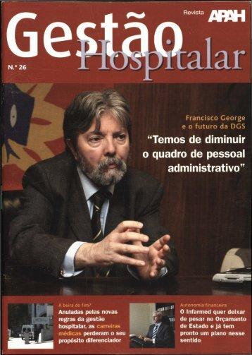 Gestão Hospitalar N.º 26 2007