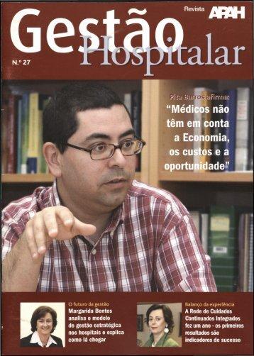 Gestão Hospitalar N.ª 27 2007