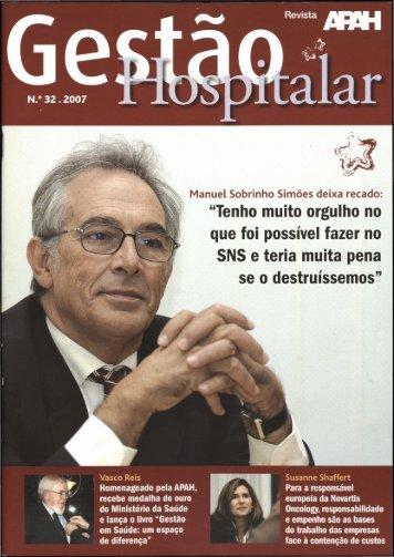 Gestão Hospitalar N.º32 2007
