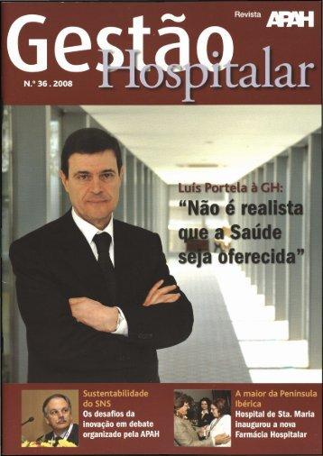 Gestão Hospitalar N.º 36 2008
