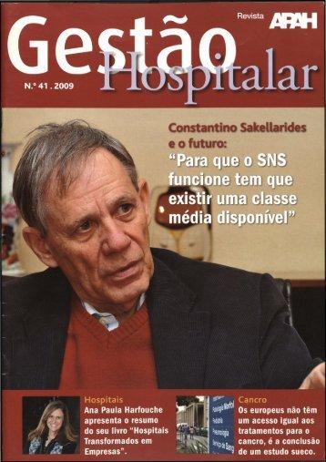 Gestão Hospitalar N.º 41 2009