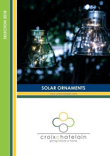 Solar Ornaments - 2018