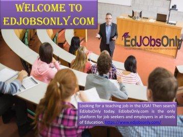 Teaching Jobs in the USA