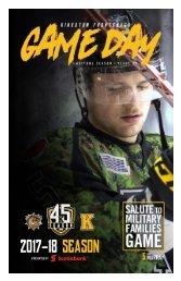 Kingston Frontenacs GameDay February 23, 2018