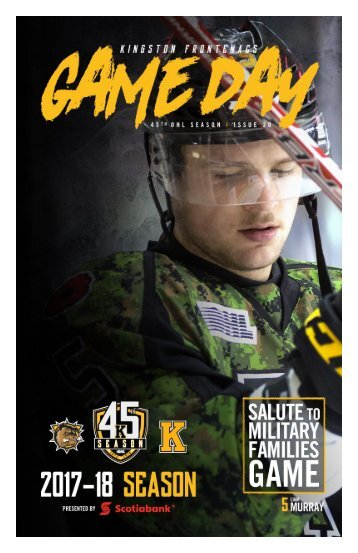 Kingston Frontenacs GameDay February 23, 2018
