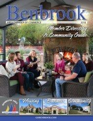 2018 Benbrook Chamber Member Directory & Community Guide