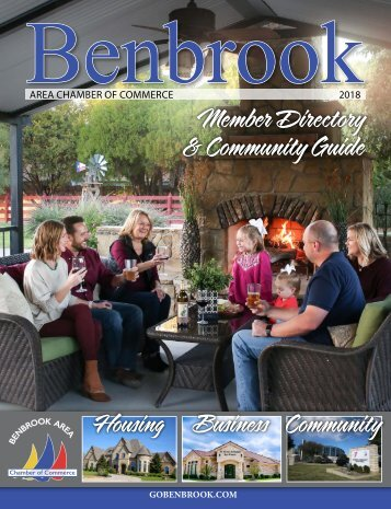 2018 Benbrook Chamber Member Directory & Community Guide