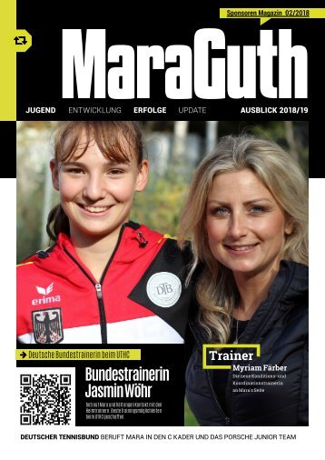 Mara Guth Tennis Nationalspielerin Magazin 2018