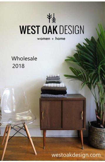 Wholesale Catalog West Oak Design