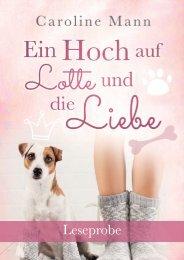 Ein Hoch auf Lotte und die Liebe - Leseprobe