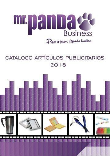 CATALOGO ARTICULOS PUBLICITARIOS - MR PANDA 2018