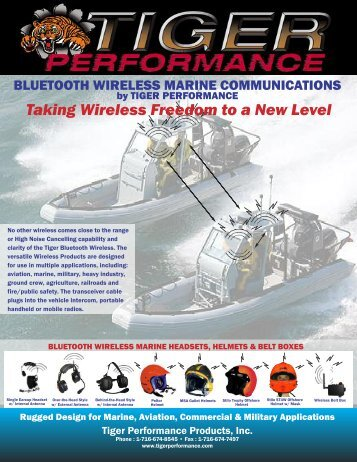 Taking Wireless Freedom to a New Level - Tiger Performance
