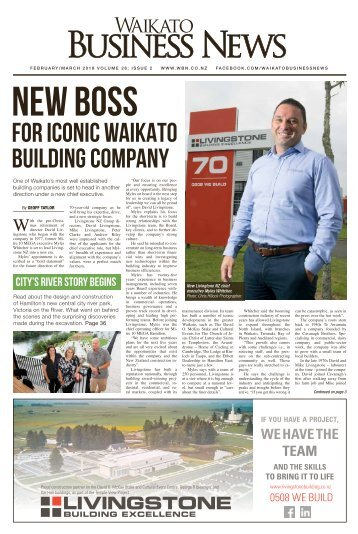 Waikato Business News February/March 2018