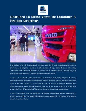 Descubra La Mejor Venta De Camiones A Precios Atractivos