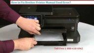 1-800-213-8289 Fix Brother Printer Manual Feed Error