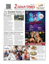 GoanTimes February 23, 2018 Issue