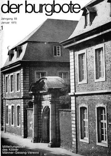 Der Burgbote 1975 (Jahrgang 55)