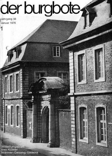Der Burgbote 1976 (Jahrgang 56)