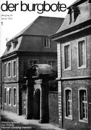 Der Burgbote 1979 (Jahrgang 59)