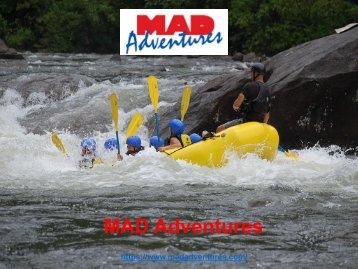 Clear Creek Rafting Colorado at madadventures.com