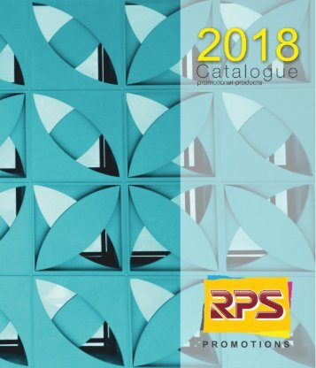 RPS Catalogue 2018