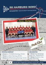 SG Hamburg-Nord vs. Weddingstedt Delve